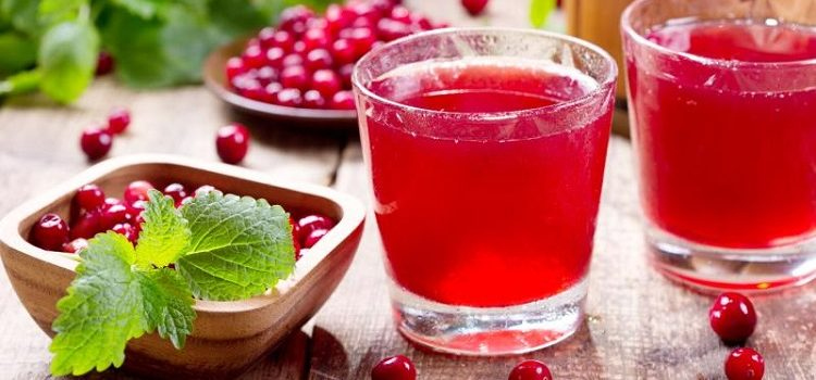 Клюквенный сок, рецепт и полезные свойства