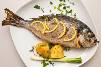 Запеченная в духовке рыба