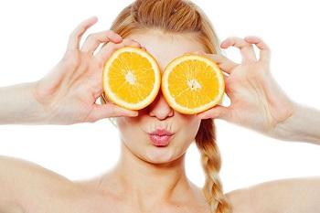 Апельсиновый сок, особенности применения в косметологии