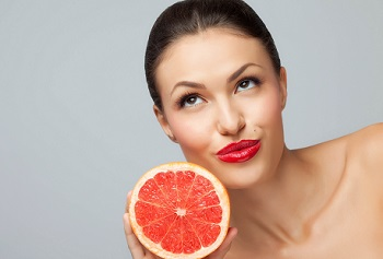 Грейпфрутовый сок в косметологии