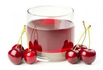Вишневый сок, применение в кулинарии, народной медицине