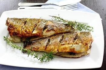 Аппетитное рыбное блюдо