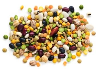 Фасоль и горох - продукты, снижающие уровень холестерина в крови