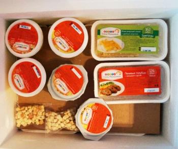 Набор готовых продуктов для диеты Елены Малышевой