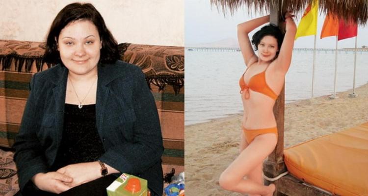 Результат применения диеты Минус 60 на фото
