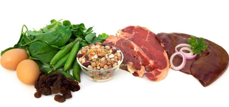 Все о функции железа в организме и продуктах, содержащих его