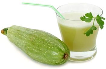 В каком виде лучше всего употреблять кабачковый сок?