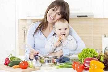 Питание кормящей матери при возникновении аллергии у ребенка