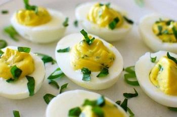Примерное меню  и необходимые продукты на неделю при яичной диете