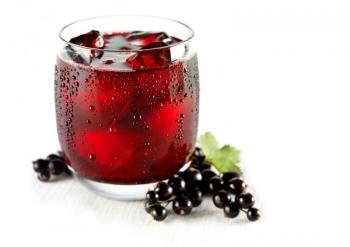 Чай из ягод черной смородины