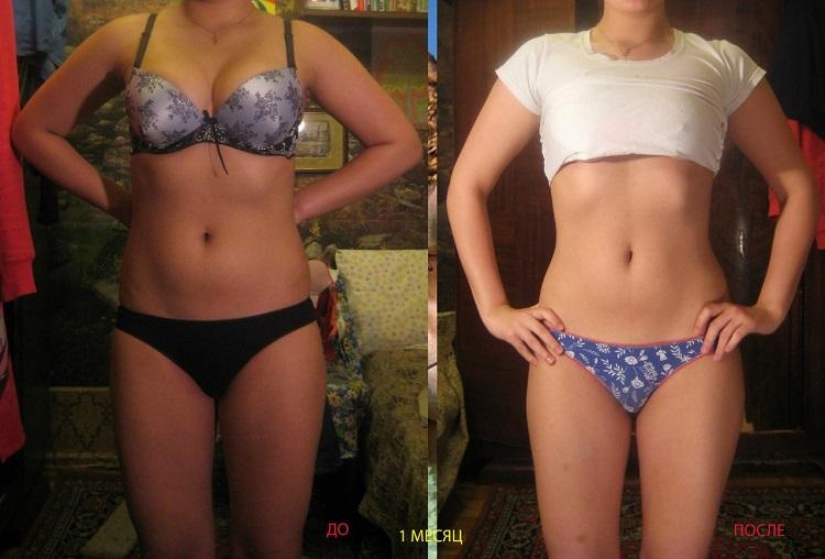 Результаты похудевших при помощи диеты белково-углеводного чередования