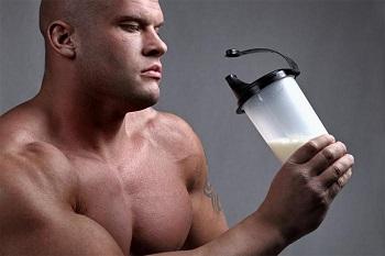Спортивное питание для мужчин при наборе мышечной массы тела