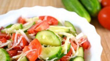 Диета на огурцах и помидорах - подробное описание методики для похудения