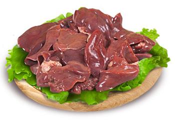 Пищевая ценность, калорийность и химический состав куриной печени
