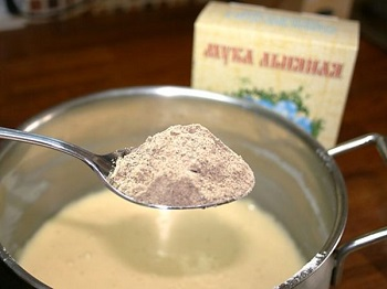 Использование льняной муки в кулинарии - полезные советы