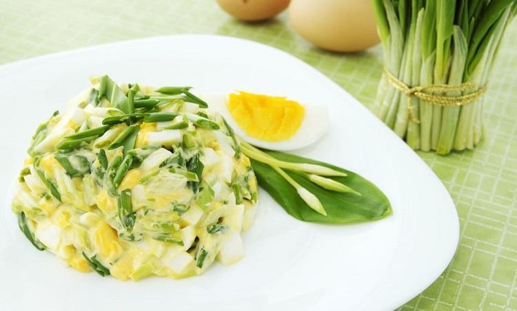 Рецепты приготовления вкуснейших салатов с использованием черемши