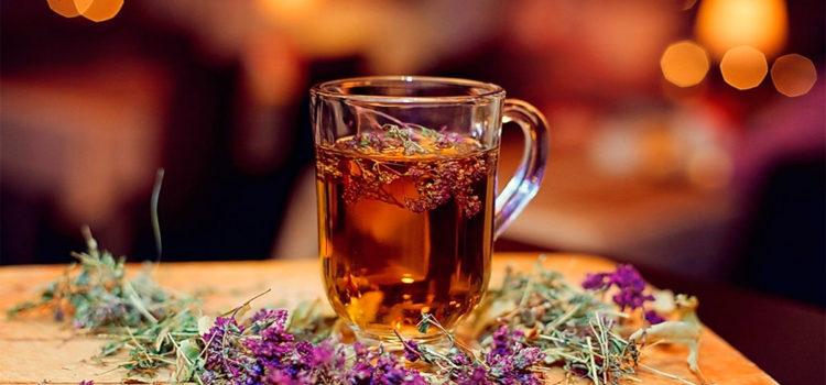 Чая с чабрецом