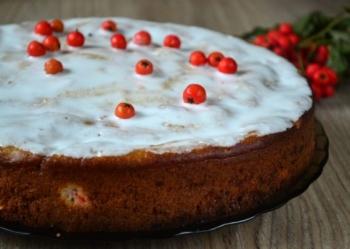 Красная рябина: полезные свойства и противопоказания, рецепт пирога с ягодами