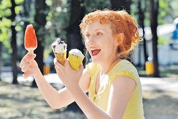 Не вредно ли употребление мороженого для худеющих