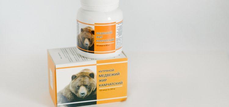 Ингредиенты медвежьего жира