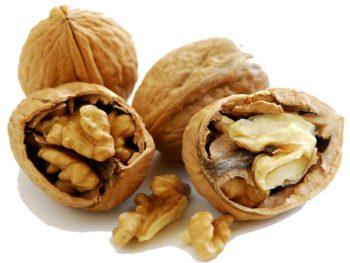 Состав и пищевая ценность перегородок грецких орехов