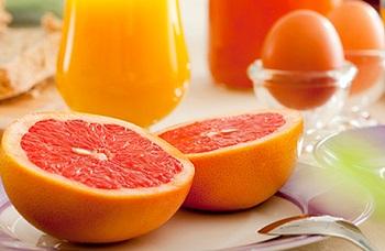 Варианты меню для грейпфрутовой диеты на каждый день