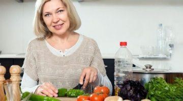 Диета при климаксе для снижения веса - основные принципы и меню